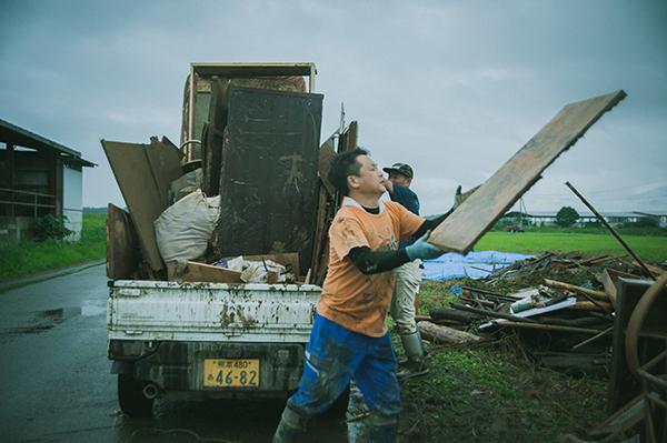 熊本県の豪雨災害の取材